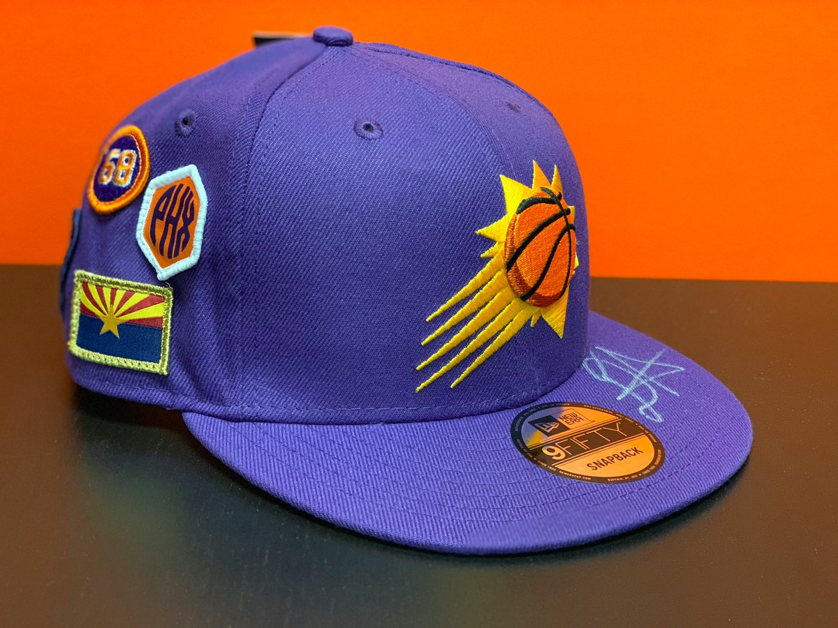 It's #NationalHatDay!  RT for your chance to win an autographed @DeandreAyton draft cap!