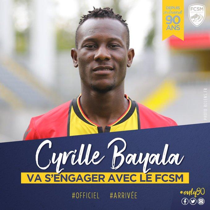 #Ligue1 #DominosLigue2 RC Lens : Cyril Bayala prêté en Ligue 2 à Sochaux (off) Photo