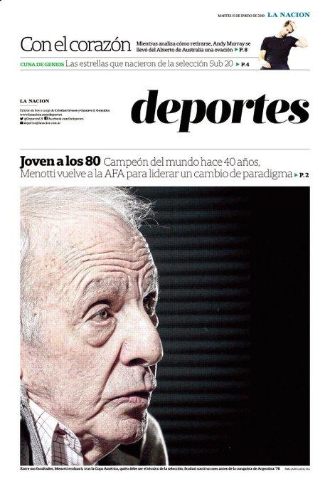 Claudio Tapia eligió a su prócer: los motivos de la vuelta de César Luis Menotti al seleccionado argentino Hoy en @LANACION @DeportesLN Foto