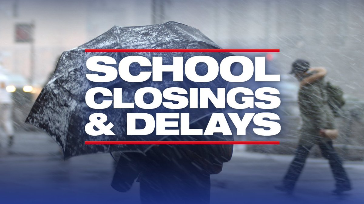 CLOSINGS & DELAYS: Get the latest CLOSING & DELAY updates: https://t.co/lBhOqs7rRq #fox5weather