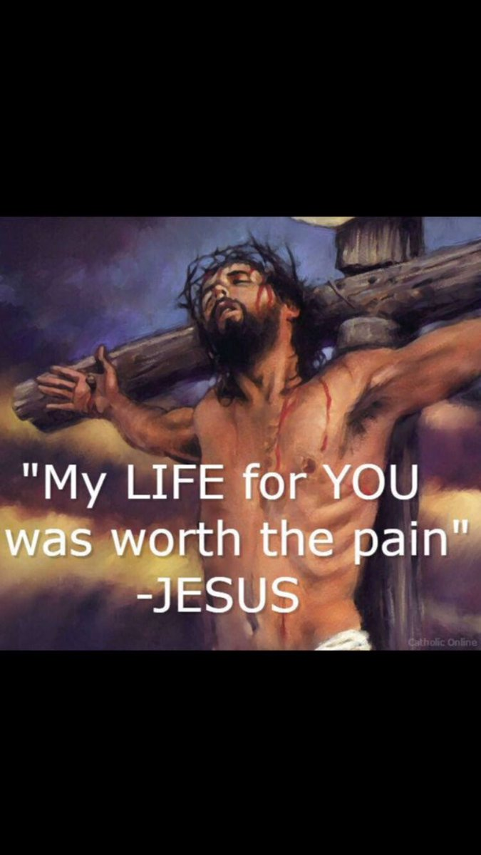 Amen. Our Lord and Savior Jesus suffered for All Mankind to be Saved, if we Follow Him we will also suffer like Him. Whenever we suffer we should always offer it to Jesus. ~ God Bless you Pope Francis & the @POTUS DT & all our Shepherds & Leaders to Lead God's Ppl in His Truth.🙏