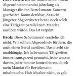 Image for the Tweet beginning: Heee, CDU, bitte Elmar Brocken