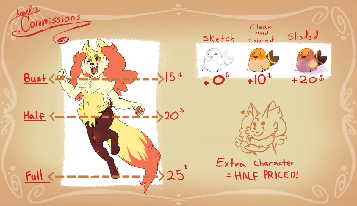 Cant Stop Wont Stop Making Ocs On Twitter Commissions Get Your Commissions Here Message Me Here Or On Tumblr At Floofangel If You Re Interested