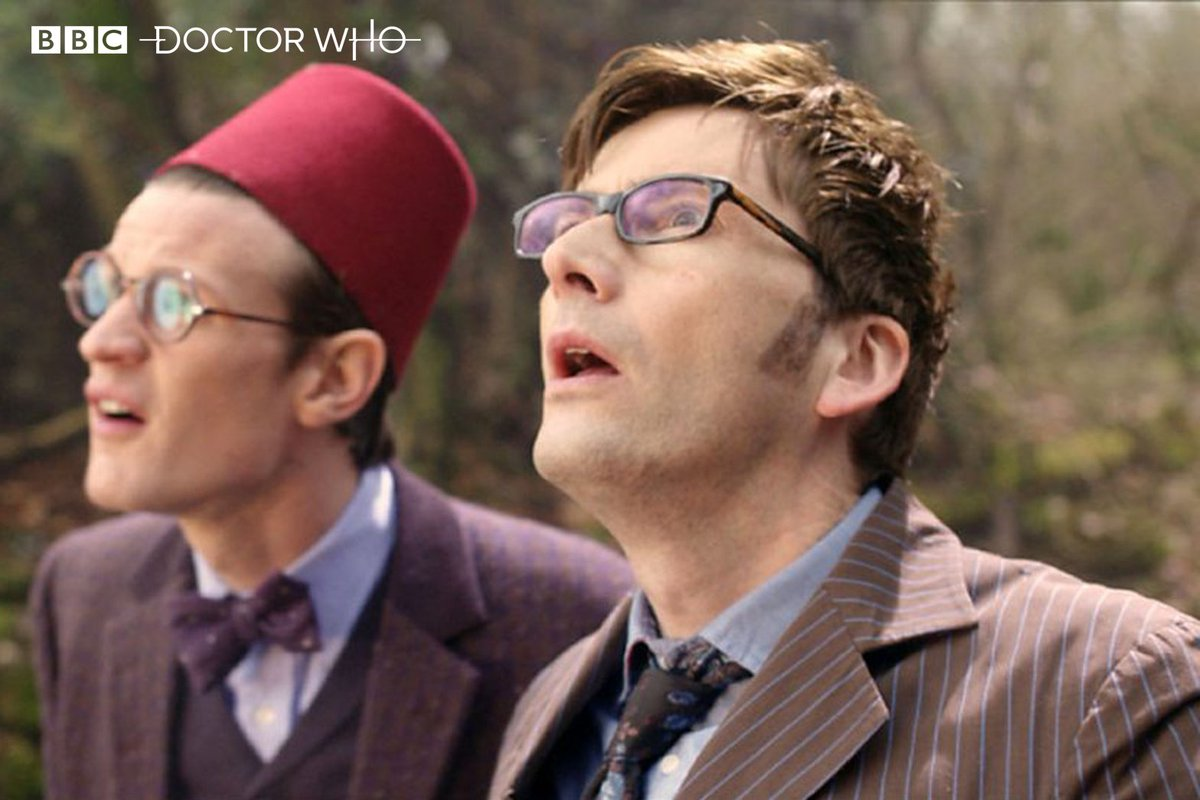 The Eleventh Doctor wore it well! What's your favourite hat from #DoctorWho?