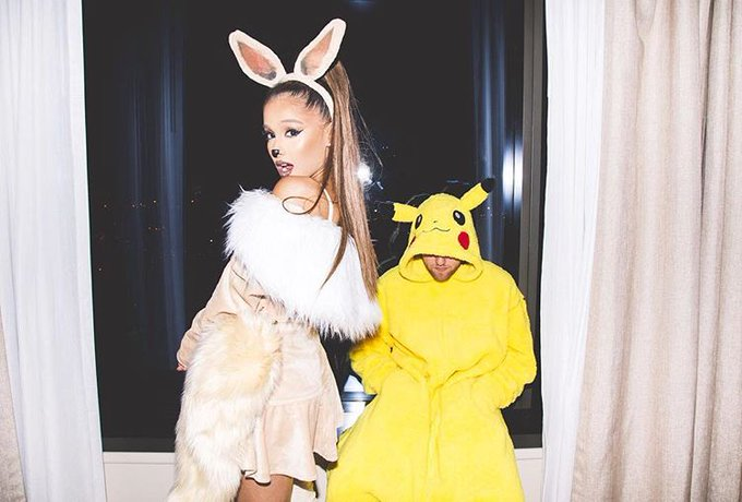 Ariana Grande, pop legend, got an Eevee tattoo! We stan! Photo