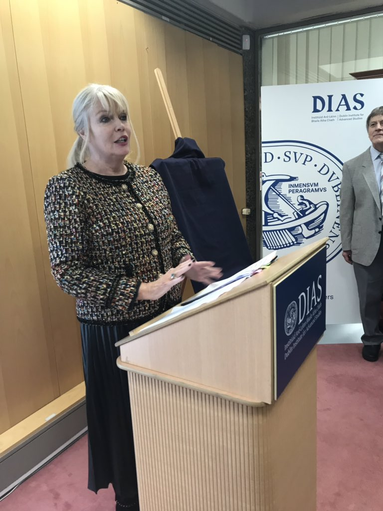 test Twitter Media - We're now moving on to the official unveiling of the portrait by Minister Mary Mitchell O'Connor @mitchelloconnor #DIASdiscovers https://t.co/10ptOFkfTN