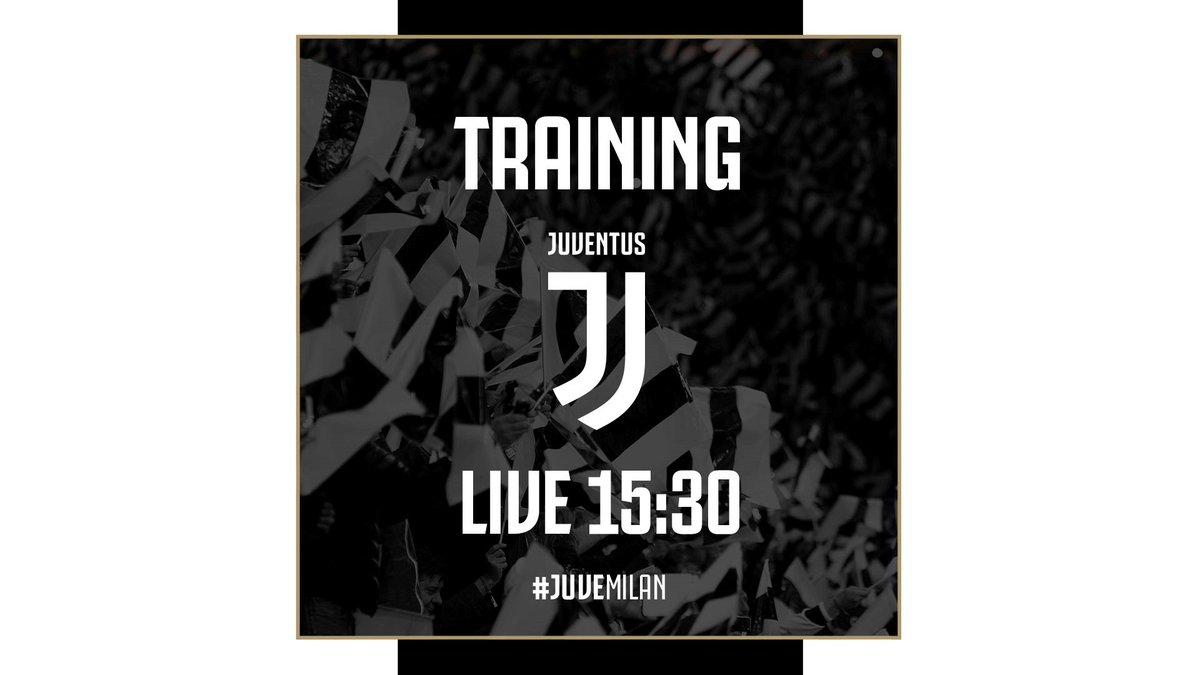 Alle ⏰ 15:30 #LIVE l'ultimo allenamento ⚽️ della @juventusfc prima di #JuveMilan all'Al-Ahli Sports Club 🏟️di #Jeddah 🇸🇦. #FinoAllaFine 🙌 In esclusiva su ➡️ http://pass.juventus.com
