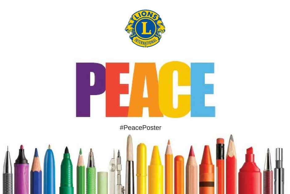 """test Twitter Media - The 2019-2020 Lions International #PeacePoster Contest Kits with the theme """"Journey of Peace"""" are officially on sale today. Order yours now ☮🎨➡ https://t.co/QjFGSjWWpu https://t.co/OE8klIaLRh"""