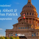 Image for the Tweet beginning: Congratulations Governor Abbott and Lieutenant