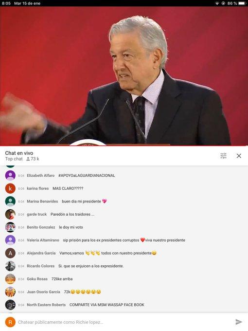 #FelizMartes No vean #DespiertaConLoret ,vayan a ver la conferencia ,hay récord histórico de 73 000 personas viéndolo en @YouTubeEspanol (La cara del peje es por que hablaba del asqueroso @EPN ) Foto