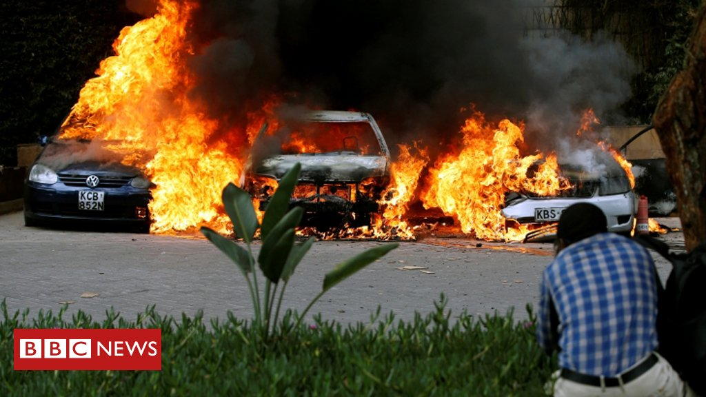 Militant group Al-Shabaab claims responsibility for terror attack at Nairobi hotel complex   Latest updateshttps://t.co/cvQTSYb7Ra: