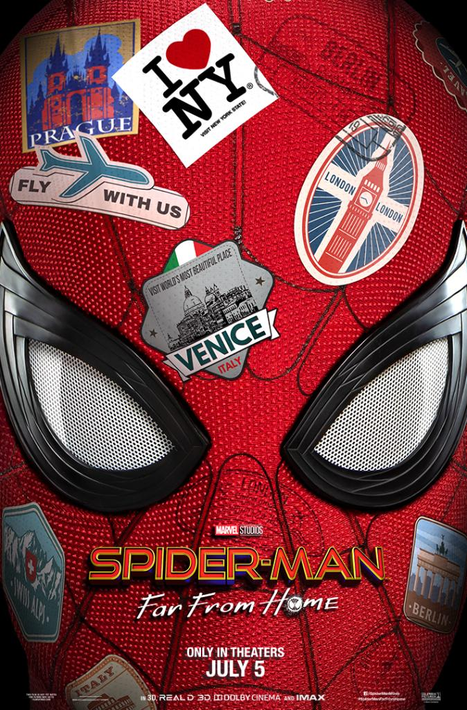 In theaters July 5. #SpiderManFarFromHome 🕷️