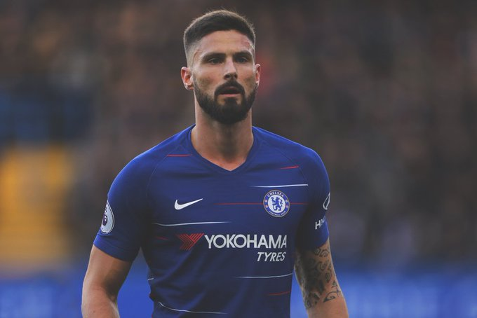 BREAKING: Olivier Giroud has emerged as a target for Barcelona, who are in search of a physical striker as a back-up to Luis Suárez. [@jeremysmith98] Photo