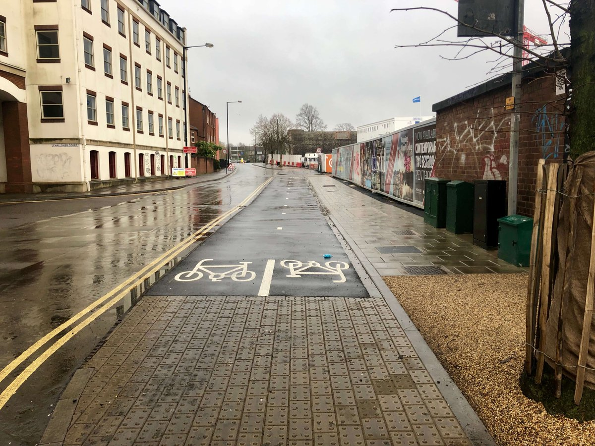 test Twitter Media - A new cycle route connecting the City Centre to South Bristol has opened to the public. However, the current Wapping Road scheme remains unfinished and is likely to do so for several months. Find out more: https://t.co/bMA1FNX4b1 https://t.co/Pf0id2RI4M