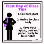 Happy First Day of Class #HPUFamily! Keep it going in the comments. What's your advice for a successful first day? #HPU365 #FDOC #SuccessTips