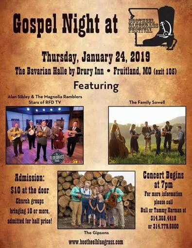 There&#39;s nothing like good ole #GospelMusic  .If you&#39;re in the area, you don&#39;t want to miss this event. @alansibley @TheFamilySowell @OfficialRFDTV The Gipsons #bluegrassmusic #Americanamusic #folkmusic<br>http://pic.twitter.com/3o52Uxp4S8