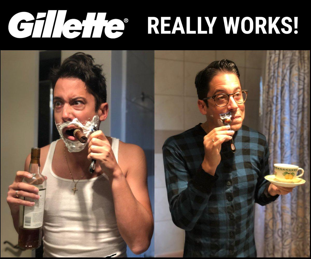 Wow, Gillette wasn't kidding!