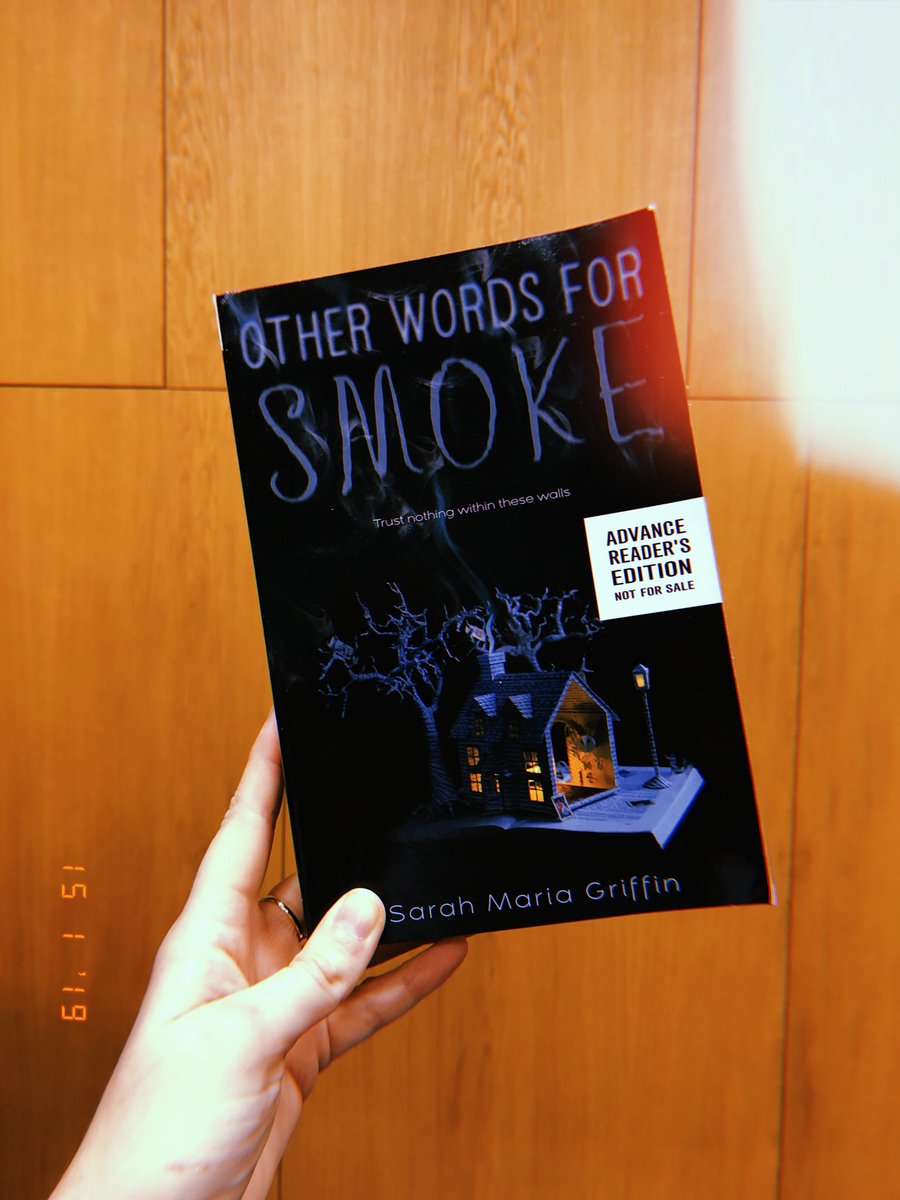 heya. i'm giving away a copy of Other Words For Smoke! it's about 2 generations of queer witches & a haunted house & there's a big, bad owl called Sweet James. he's truly awful.   if you'd like to enter, please RT & follow! i'll choose a winner at random on January 28th🔥🦉🖤