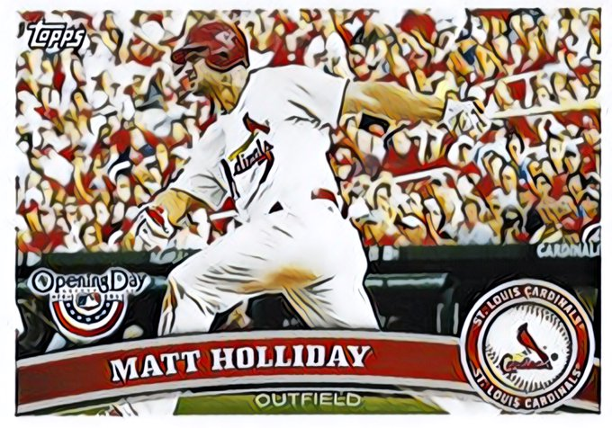 Happy Birthday to former St. Louis Cardinal, Matt Holliday!
