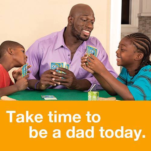 Take time to be a dad today! Thanks @TitusONeilWWE for all that you do. #fatherhood365 #NRFCdads