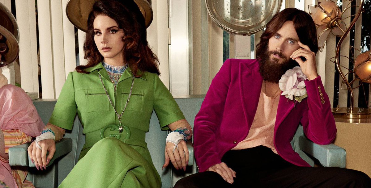 Lana Del Rey & Jared Leto in the Gucci Guilty Campaign