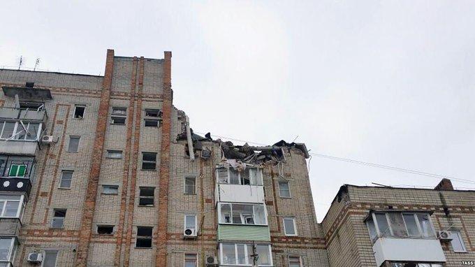 В городе Шахты Ростовской области из-под завалов извлекли тела ещё двух человек. Фото