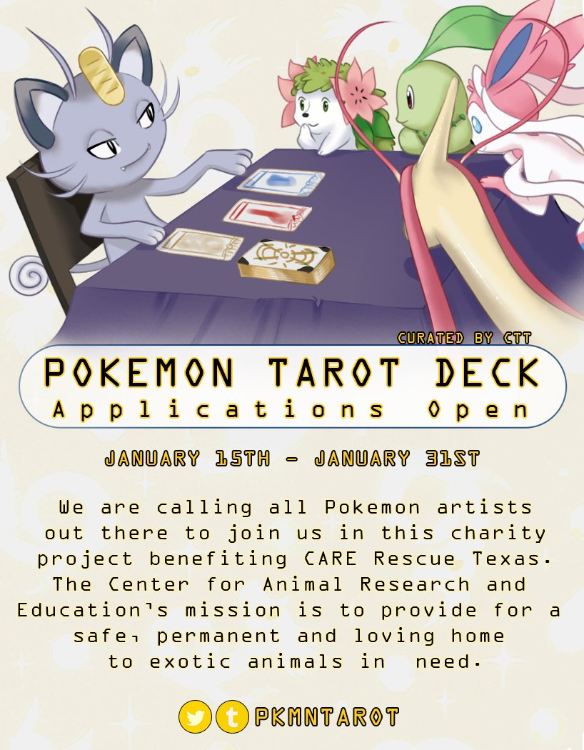 Pokemon Tarot on Twitter: