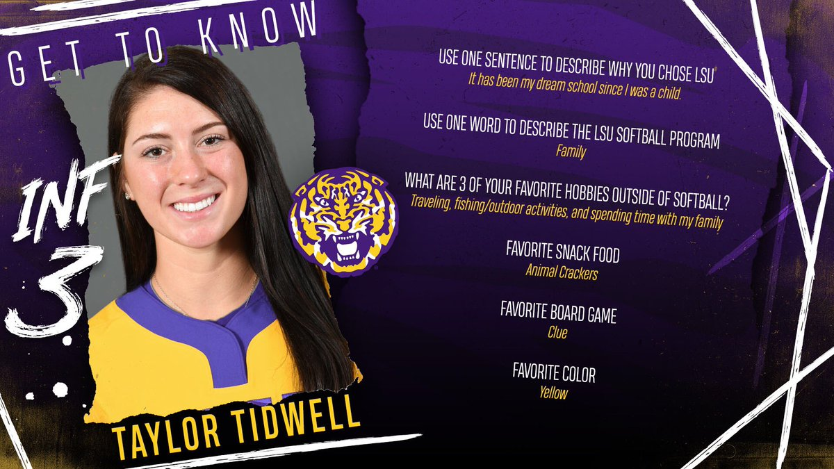 484a18d08 LSU has always been a dream for  taylortidwell3! Get to know the Louisiana  native!  FightAllTheWaypic.twitter.com 5na05tudff