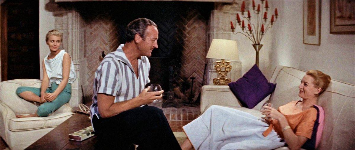 "Ken Anderson 🏳️🌈🎞🎼 on Twitter: ""60th Anniversary! Otto Preminger's film  adaptation of Françoise Sagan's 1954 novel ""Bonjour Tristesse"" was released  in NYC on January 15, 1958. Jean Seberg, David Niven, & Deborah"