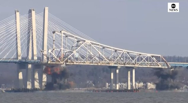 Going, going, gone: Old Tappan Zee Bridge implodes into history! https://t.co/HjLFrcyaH0