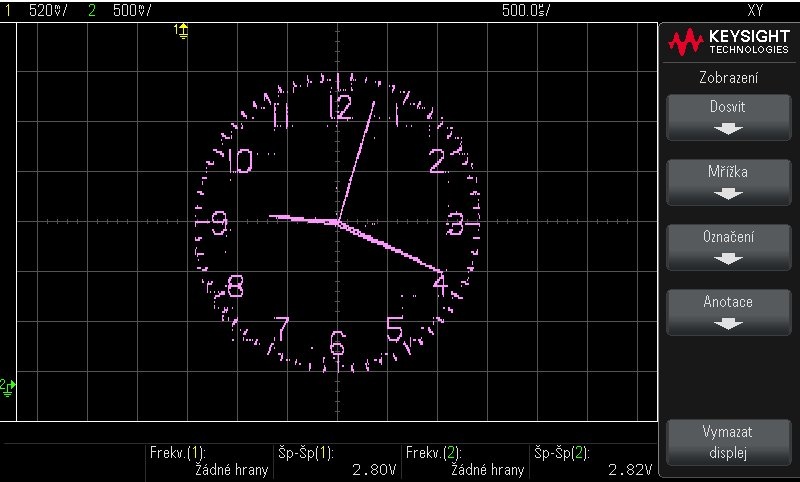 Mauro Pintus Ar Twitter Make Your Own Esp32 Oscilloscope Clock With This Simple Arduino Code Https T Co 52qim90zjc As Promised Here You Can Find All You Need To Convert Your Oscilloscope In To A Clock Enjoy And Don T Forget To Post Your Pictures