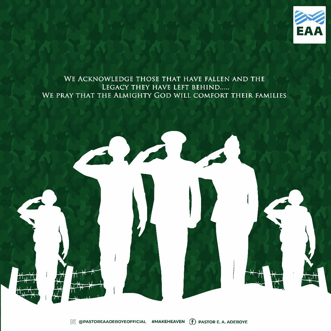 The labors of all our heroes past shall never be in vain Happy Armed Forces Remembrance Day https://t.co/0C3cLVOPgo
