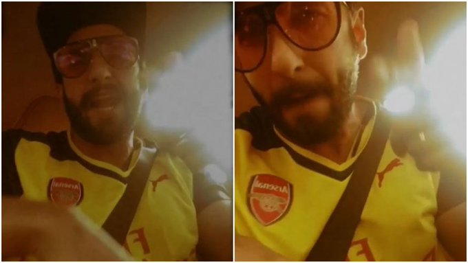 #GullyBoy @RanveerOfficial proves his talent again, raps Apna Time Aayega perfectly while stuck in traffic Photo