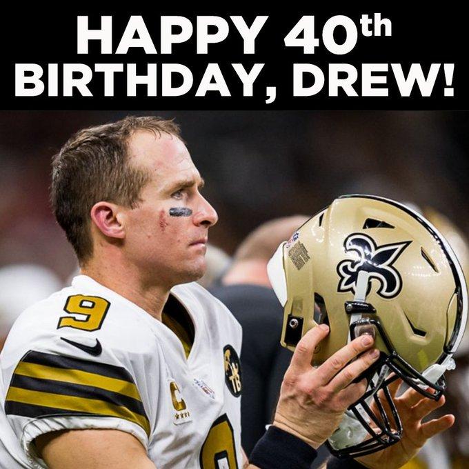 Happy Birthday, Drew Brees!