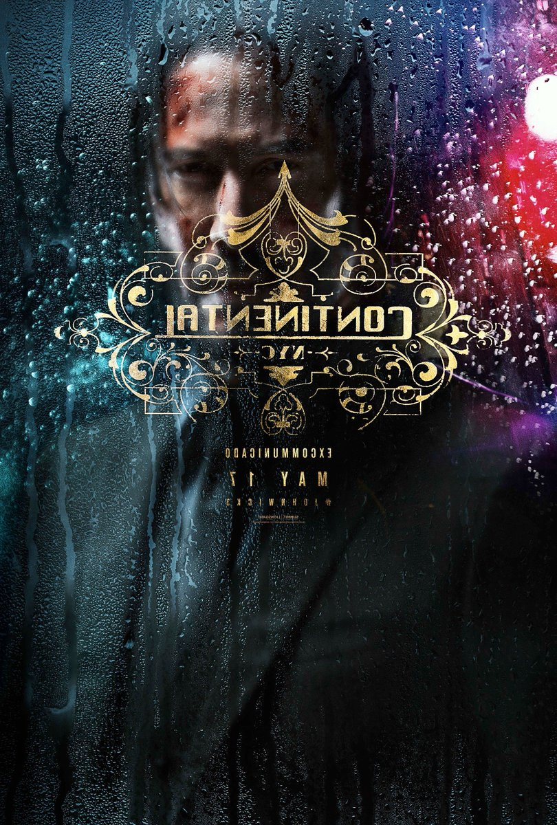 The first poster for John Wick: Chapter 3 – Parabellum, in theaters May 17 #JohnWick3