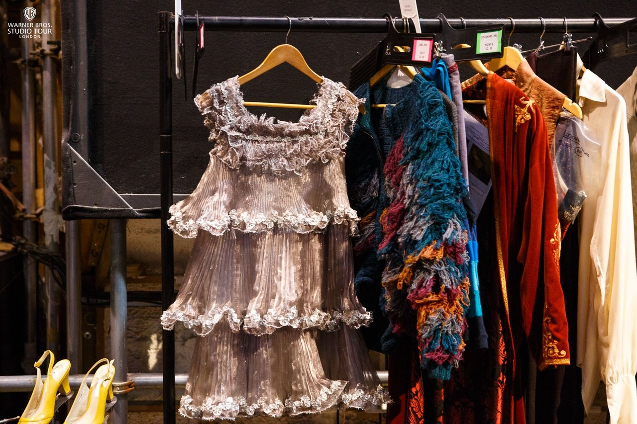 Warner Bros Studio Tour London On Twitter According To Costume Designer Jany Temime Luna Lovegood S Party Dress Was Designed To Look Like A Christmas Tree She Wears That Dress Brilliantly It S Completely