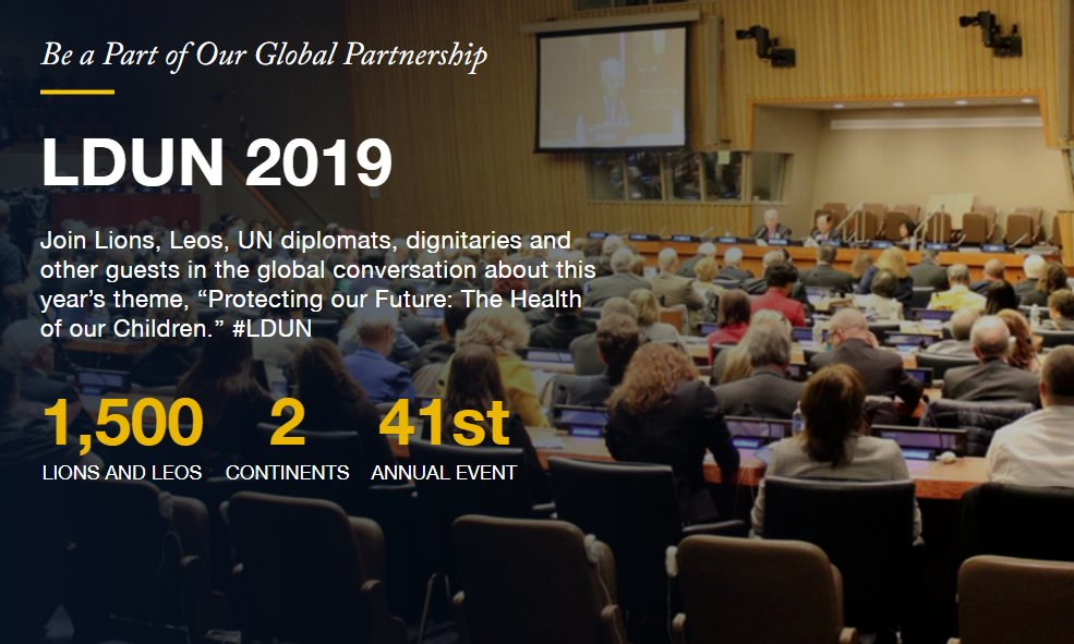 test Twitter Media - Registration is open for Lions Day with the United Nations in New York and Geneva! Join the conversation  ➡ https://t.co/AyoCri8wc8 #LDUN https://t.co/BkOxSymKTC