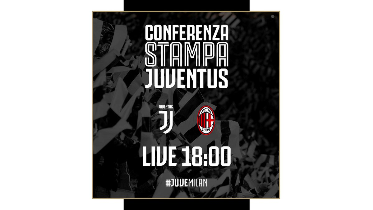 La conferenza stampa 🎙️di @OfficialAllegri e @chiellini è #LIVE 📡 su ➡️ http://pass.juventus.com ⚪️⚫️ #ForzaJuve #Supercoppa #JuveMilan