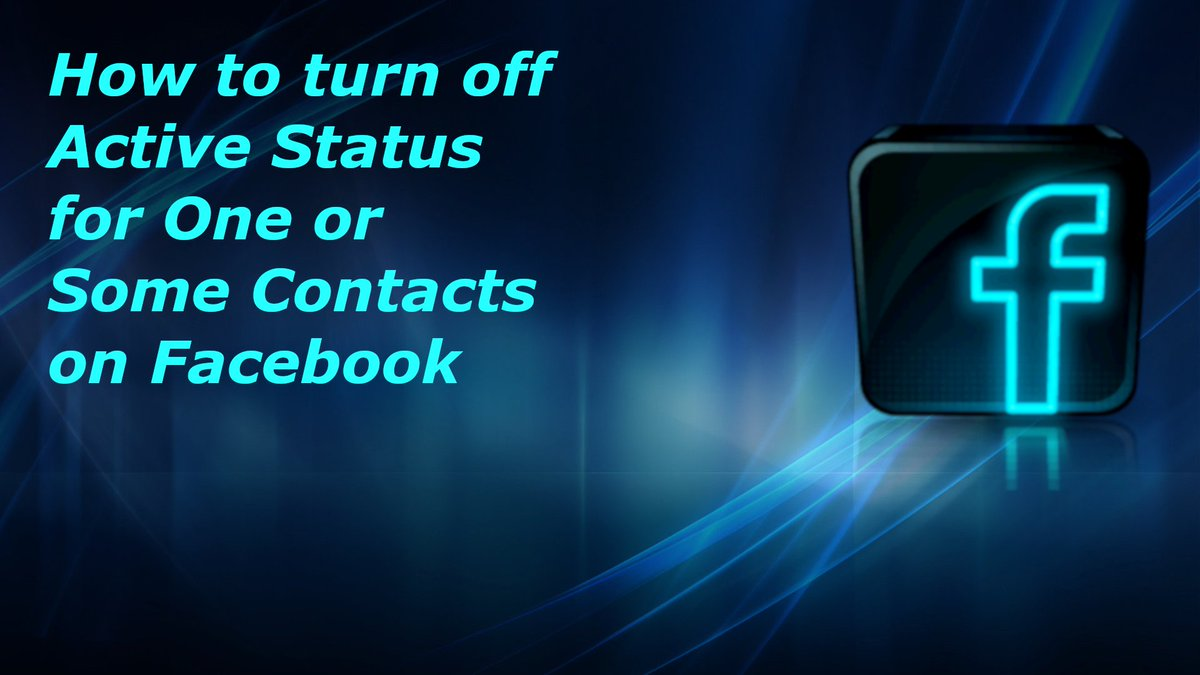 How To Hide Active Status From One Or Some Friends On Facebook  https://www.youtube.com/watch?v=bUwS8qcxTxQ …  #facebook #hide #status #active #premium #forfree #device #fix #android #messenger #alternate #app #best #2in1 #taskbar #network #speed #realtime #noxplayer #nox #emulator #updated #Premium