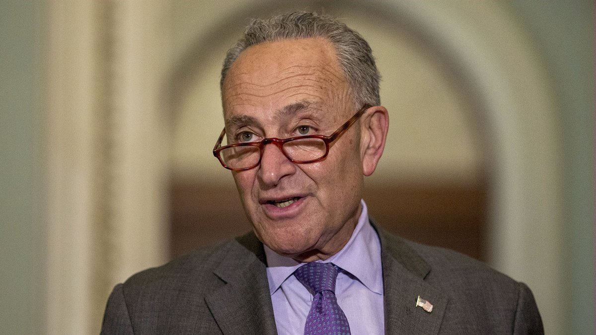 Chuck Schumer Honestly Pretty Amazed He Hasn't Caved Yet https://trib.al/6UUWRac