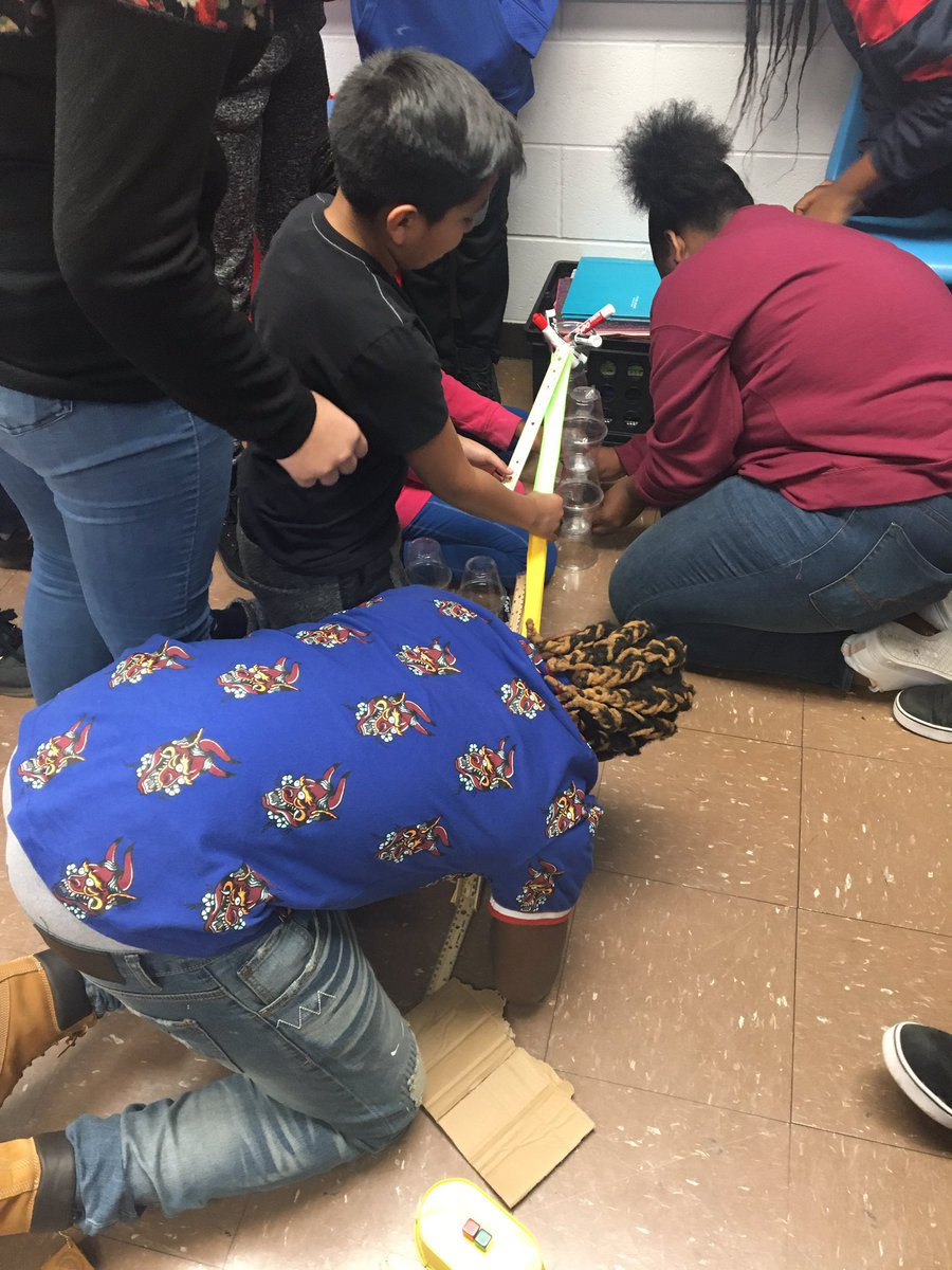 """I love the """"what if we did this?"""" part of science! #KNOWmoore #7thgradeisthebestgrade"""