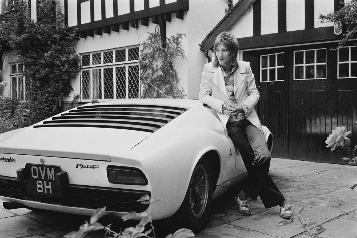 Lamborghini On Twitter In 1971 Rodstewart Bought A White