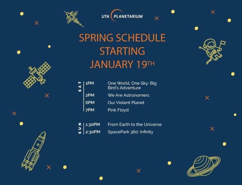 UTA Planetarium on Twitter: