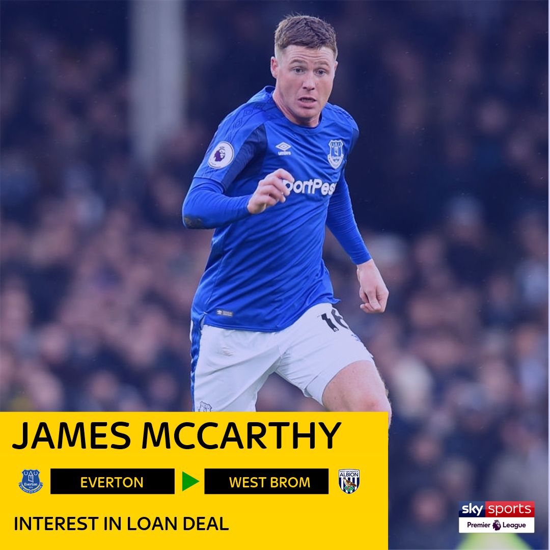 Sky Sports Premier League On Twitter Wba Are Interested In Signing James Mccarthy On Loan As The Efc Midfielder Steps Up His Recovery From A Broken Leg Sky Sports News Understands Follow