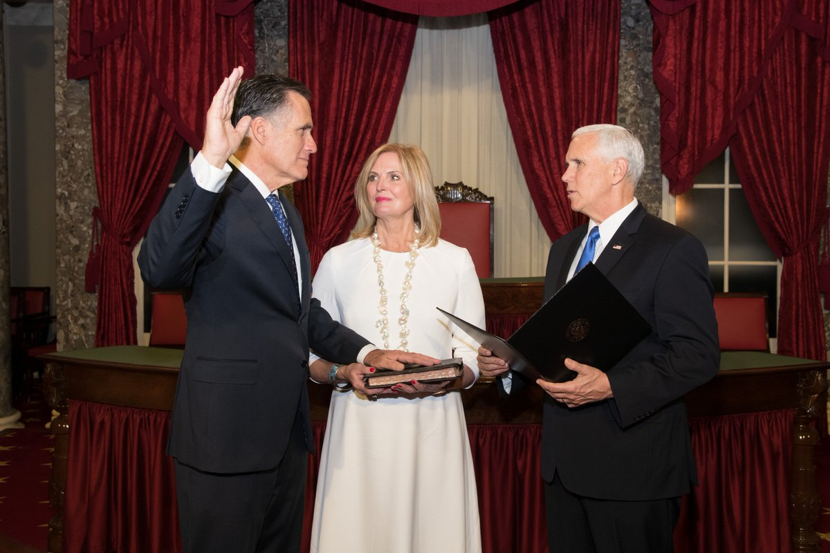 To the people of Utah: Thank you for entrusting me with the responsibility of serving you in the United States Senate.