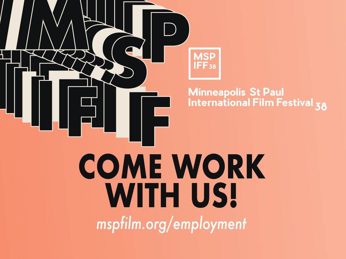 Graphic Design Jobs Minneapolis Mn: MSP Film Society on Twitter: Each year #MSPFILM hosts the largest rh:twitter.com,Design