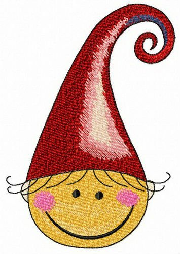 4641f0c287390 New embroidery design Happy elf machine embroidery design  happy  hat   Funny  boy  swirl  elf  shy  blushing  kind  Rosycheeked  embroidery   design ...