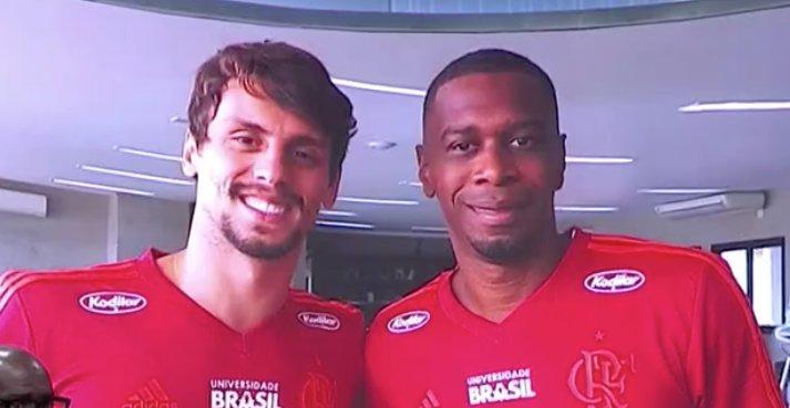 De 0 a 10 que nota você daria para essa dupla de zaga do Flamengo?  #TrocaDePasses