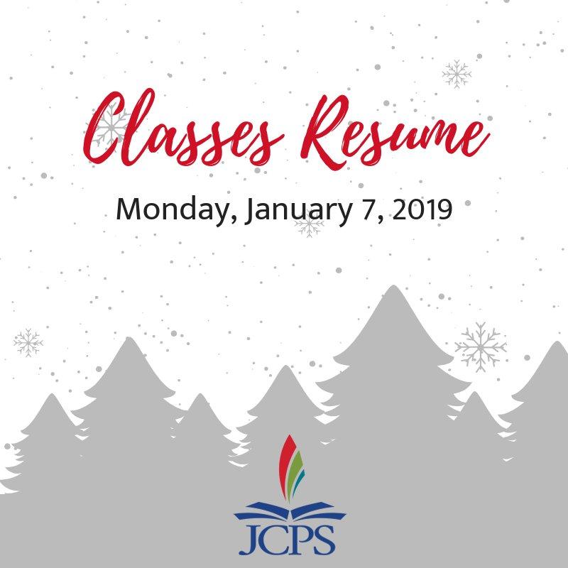 Jcps On Twitter Hope Students Are Enjoying Winter Break A