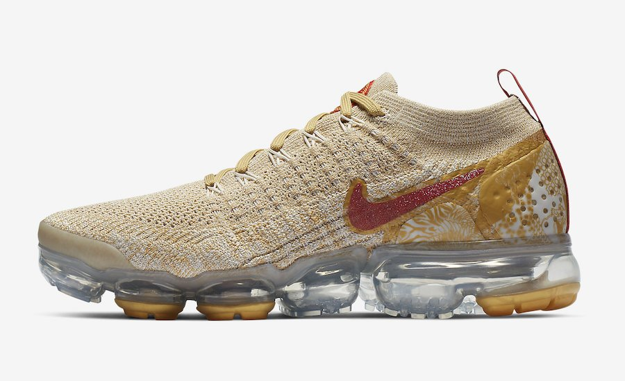 "1b7d998d096d9 Nike WMNS Air VaporMax 2.0 ""Year Of The Pig"" Style Code  BQ7037-001 Release  Date  January 2019 Price   190  nikesportswearpic.twitter.com usWs2d8K3o"